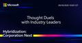 Діджитал івент від Microsoft -  Hybridization: Corporation Next