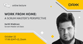 "Webinar ""Work from Home: A Scrum Master's Perspective"""