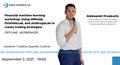 "Офлайн воркшоп Олександра Проскуріна: ""Financial machine learning workshop: Using Mlfinlab, PortfolioLab and ArbitrageLab to create trading strategies"""