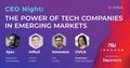 CEO Night з Ajax, Innovecs та Influ2: українські компанії на глобальних ринках