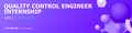 Internship: Quality Control Engineer