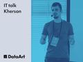 "IT talk Kherson ""Python for Data Analysis"""