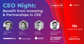 CEO Night: Benefit from Investing & Partnerships in CEE