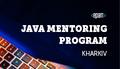 Kharkiv Java Mentoring Program