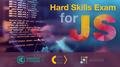 Сертифікаційне тестування Hard Skills Exam для JavaScript-розробників від Kharkiv IT Cluster