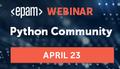 Python Community Webinar