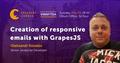 Vinnytsia Speakers' Corner: Creation of responsive emails with GrapesJS