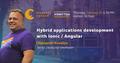 Vinnytsia Speakers' Corner: Hybrid apps development with Ionic/Angular
