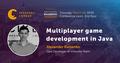 Kharkiv Speakers' Corner: Multiplayer game development in Java
