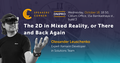 Dnipro Speakers' Corner: The 2D in Mixed Reality, or There and Back Again
