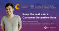 "Kyiv Speakers' Corner: ""Keep the real users. Customer Retention Rate"""