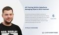 "Webinar ""API testing within Salesforce. Managing objects with Postman"""