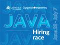 Lohika Java Hiring Race