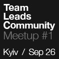 Team Leads Community | Meetup #1