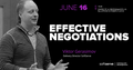 Тренінг «Ефективні переговори»