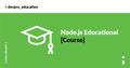 Node.js Educational Course by Dev.Pro