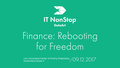IT NonStop Lviv. Finance: Rebooting for freedom