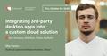 Kyiv Speakers' Corner: Integrating 3rd-party desktop apps into a custom cloud solution
