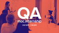 MOC QA Internship 2018