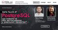 """Вебінар """"PostgreSQL – що нового та яке застосування у реальних проєктах?"""""""