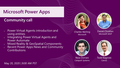 PowerApps Community Call