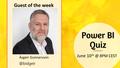 Power BI Quiz Weekly show with Ásgeir Gunnarsson