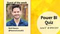 Power BI Quiz Weekly show with Reid Havens