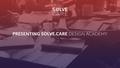 Solve.Care Design Academy for UI/UX Designers