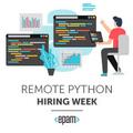 Remote Python Hiring Week