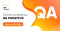 QA fwdays'20, безкоштовна онлайн-конференція