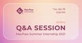 Q&A — Літнє стажування 2021 у MacPaw