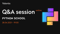Q&A session – Yalantis Python School