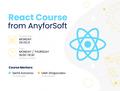 [Реєстрація завершилась] Курс React.js від AnyforSoft