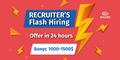 Recruiter's Flash Hiring at Exadel