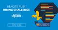 EPAM Remote Ruby Hiring Challenge