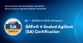 SAFe® 4 Scaled Agiliest (SA) Certification
