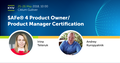SAFe® 4.5: Product Owner/Product Manager Certification with the Scaled Agile Framework®