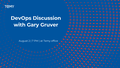 DevOps Discussion with Gary Gruver