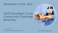 2020 Facebook Developer Circles Community Challenge