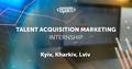 Talent Acquisition Marketing Internship | EPAM University Programs