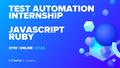 Test Automation: Безкоштовне стажування із подальним працевлаштуванням