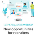 "Вебінар ""Talent Acquisition Webinar: New Opportunities for Recruiters"""