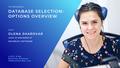 """Waverley TechBreakfast: """"Database Selection: Options Overview"""""""