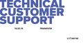 Technical Customer Support MeetUp