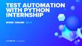 Безкоштовне стажування Test Automation Engineer with Python з подальшим працевлаштуванням