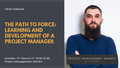 "Встреча ""The path to Force: Learning and development of a project manager"""