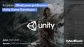 Встреча «Meet your profession: Unity Game Developer»