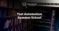 EPAM Test Automation Summer School