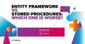 "Онлайн-зустріч ""Entity Framework vs Stored procedures: which one is worse?"""
