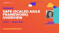 """Вебінар """"SAFe (Scaled Agile Framework) overview"""""""